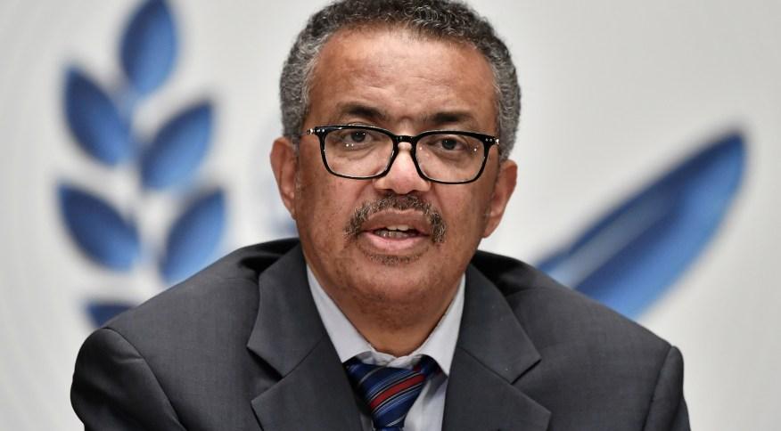 O diretor-geral da Organização Mundial da Saúde, Tedros Adhanom Ghebreyesus: permitir circulação livre de vírus é antiético