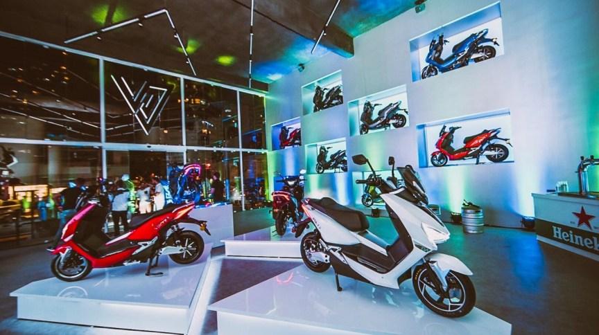 Loja da Voltz em Recife, Pernambuco: empresa aposta em crescimento com scooters elétricas