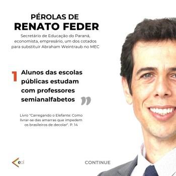 Auxiliares presidenciais disseram que o documento visa expor a 'incompatibilidade' de Feder com o governo e, dessa forma, tentar impedir nomeação a ministério