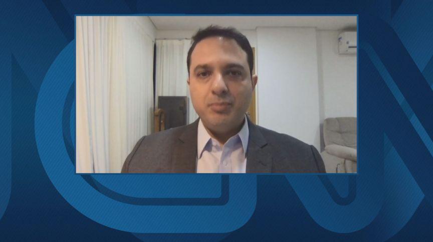 Evandro Gussi, presidente da União da Indústria de Cana de Açúcar (UNICA) em entrevista para a CNN (03.jul.2020)