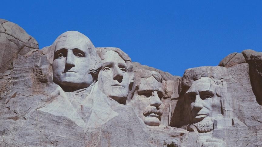 Monte Rushmore, na Dakota do Sul