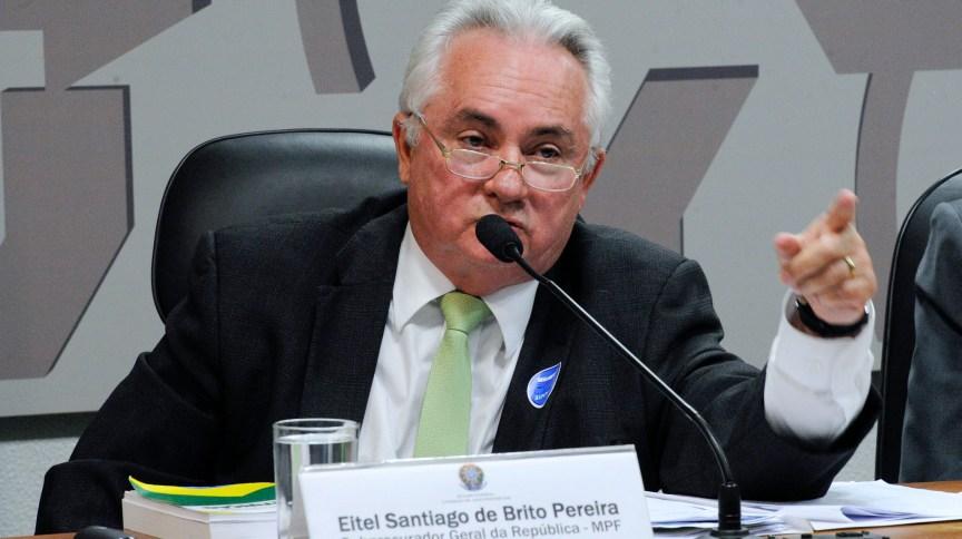 Subprocurador-geral Eitel Santiago de Brito Pereira (19.out.2016)
