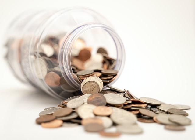 Jarro de moedas