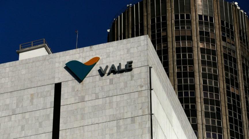 Fachada de edifício da mineradora estatal Vale (20.ago.2014)