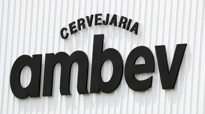 Logotipo da cervejaria Ambev