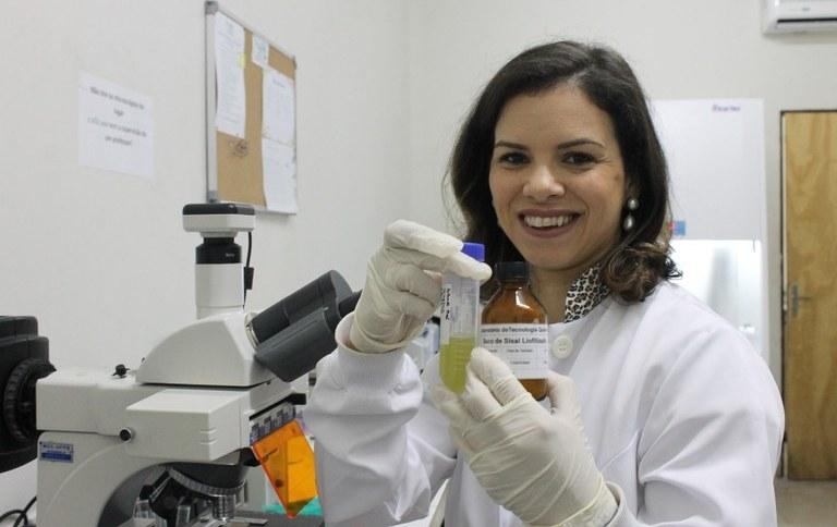 Professora Fabíola Cruz, da Universidade Federal da Paraíba (UFPB)