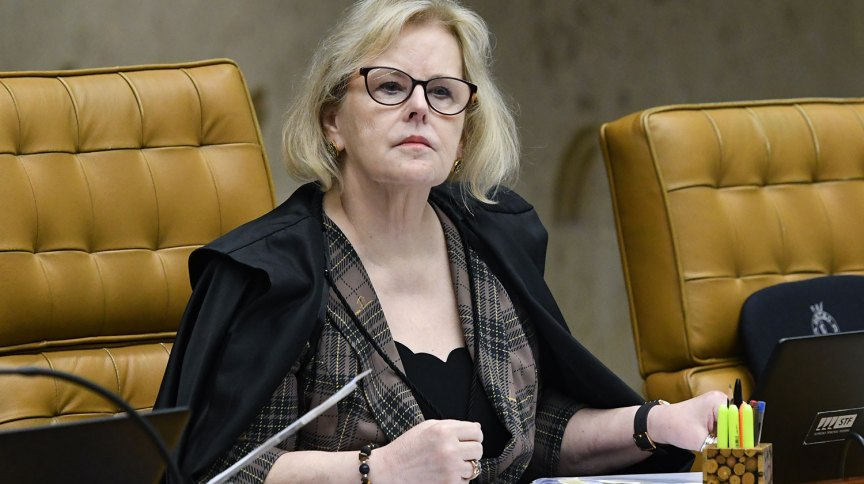 A ministra Rosa Weber, do Supremo Tribunal Federal
