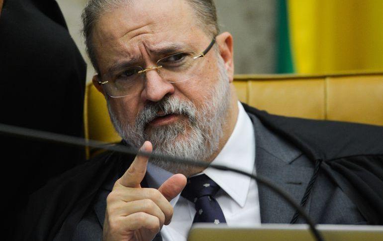 O procurador-geral da República, Augusto Aras: ele deve rejeitar representações contra o presidente Jair Bolsonaro