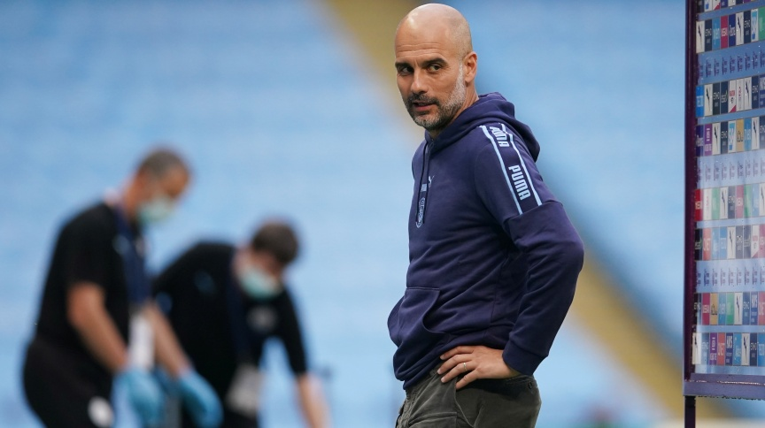 Técnico do Manchester City, Pep Guardiola