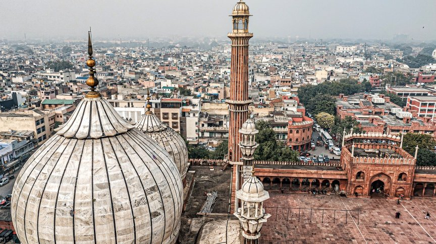 Nova Déli, capital da Índia
