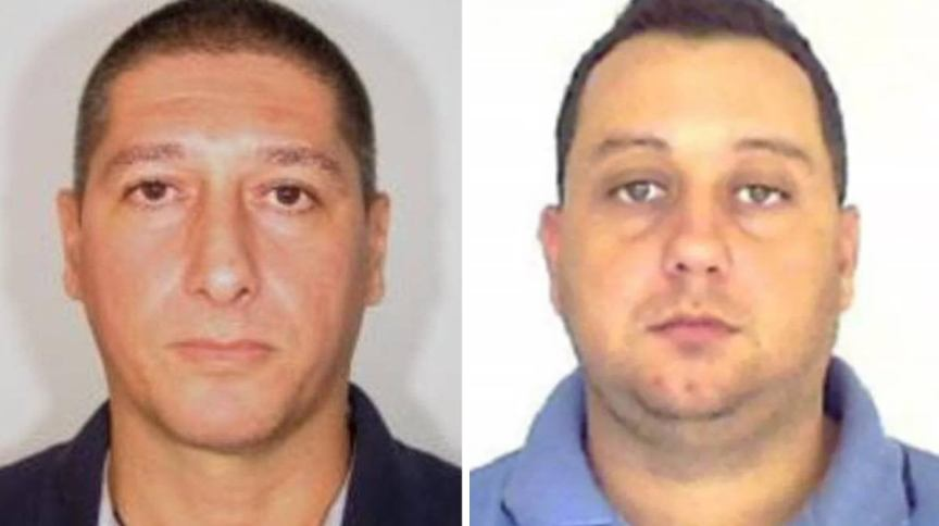 Os acusados de terem matado Marielle Franco, Ronnie Lessa (à esq.) e Élcio Queiroz (à dir.)
