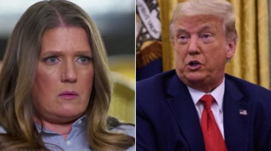Mary e Donald Trump