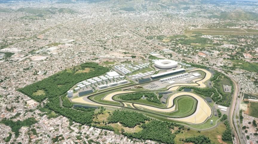 Projeto do novo autódromo do Rio de Janeiro