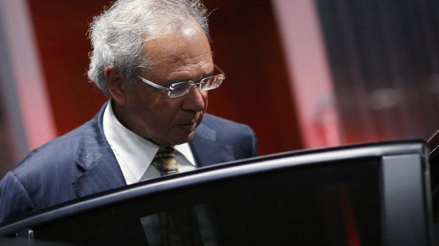 Ministro da Economia, Paulo Guedes, é um dos articuladores do 'coronavoucher'