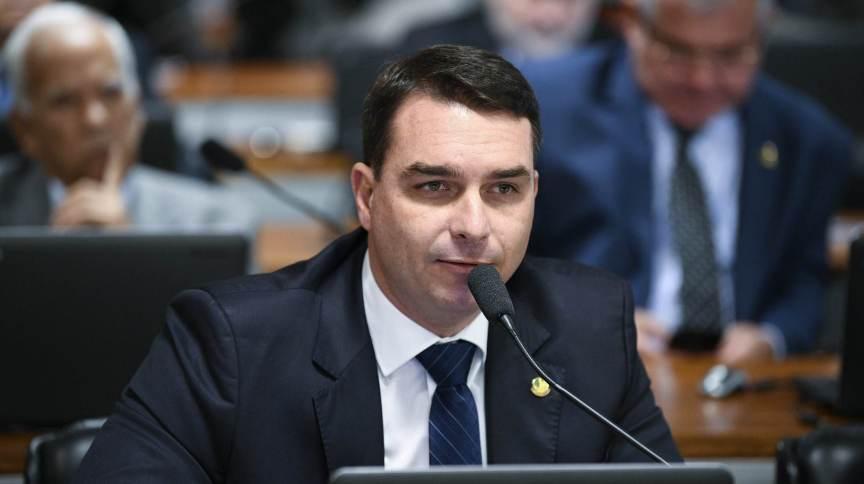 Senador Flávio Bolsonaro: ele foi convidado a prestar esclarecimentos na Comissão Mista de Controle das Atividades de Inteligência