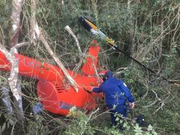 Piloto e mais um tripulante fugiram, e ainda não foram localizados