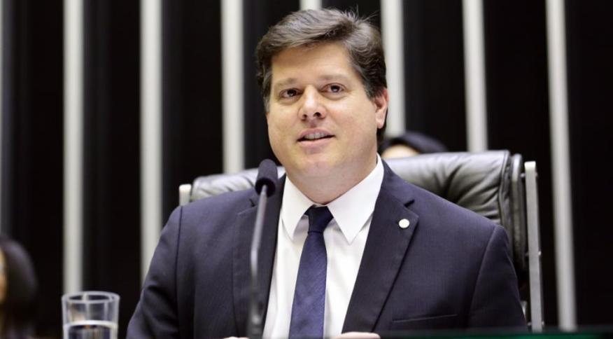O deputado federal Baleia Rossi (MDB-SP): parlamentar quer ser presidente da Câmara