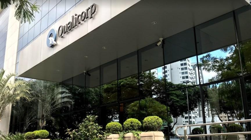 Fachada de um dos escritórios da Qualicorp em São Paulo