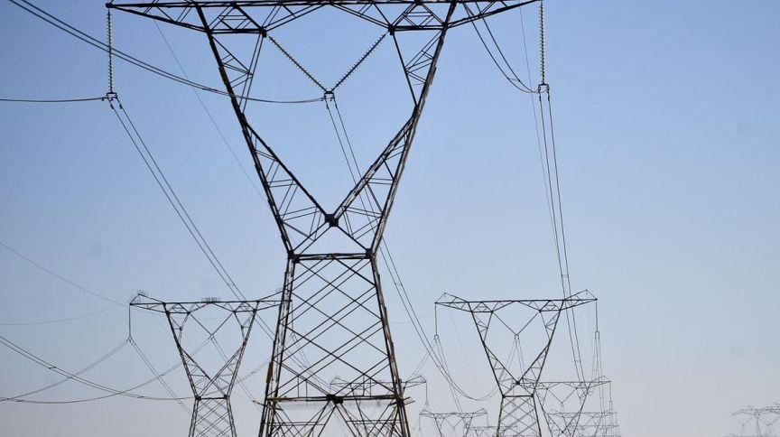 Torres de distribuição de energia