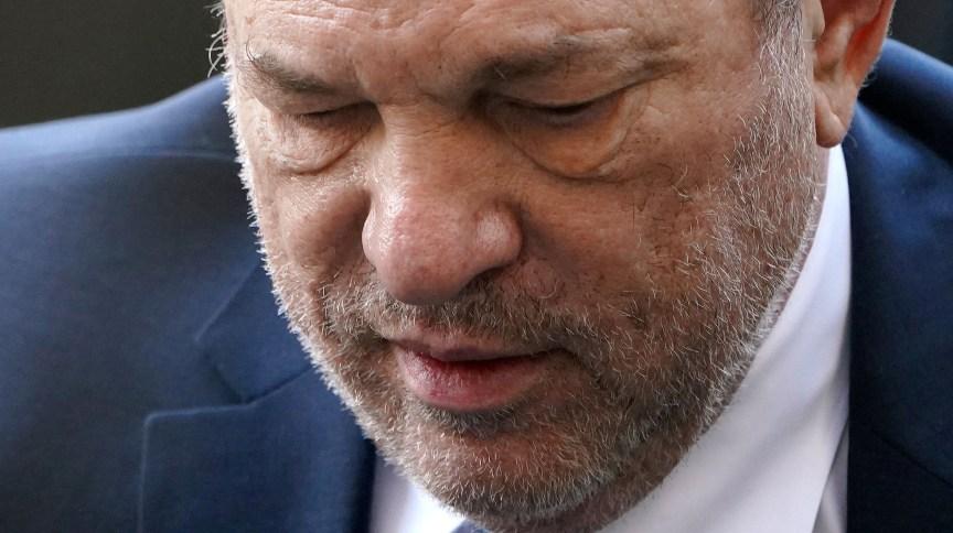 Harvey Weinstein chega ao tribunal para ouvir sentença (11.mar.2020)
