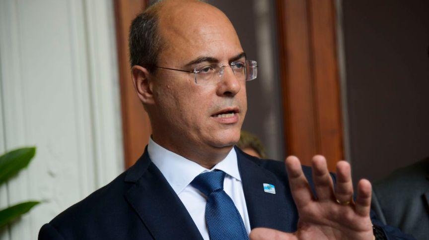 O governador do Rio, Wilson Witzel, em evento