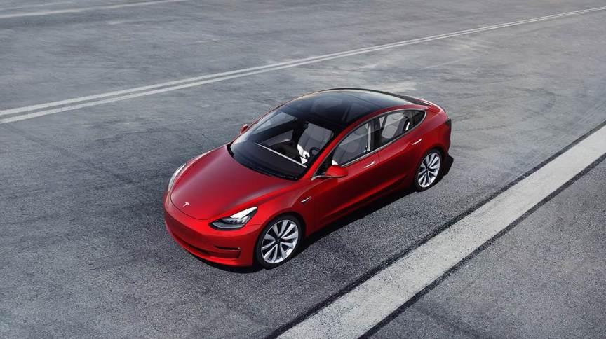 Model 3, um dos carros mais populares da Tesla