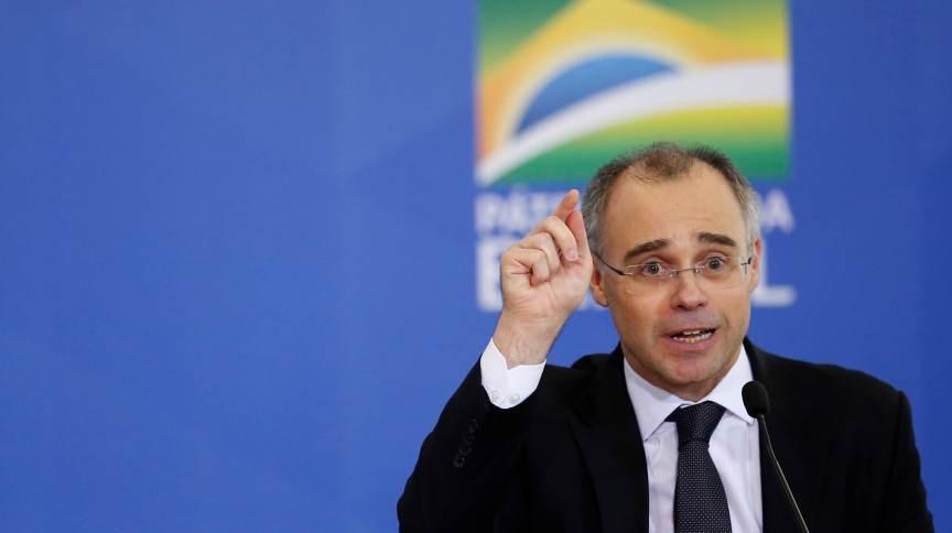 O ministro da Justiça e Segurança Pública, André Mendonça