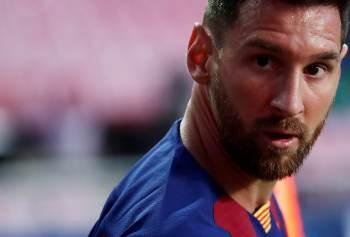 Serão comercializadas quatro imagens do jogador argentino que está de saída do Barcelona após 17 anos no clube espanhol