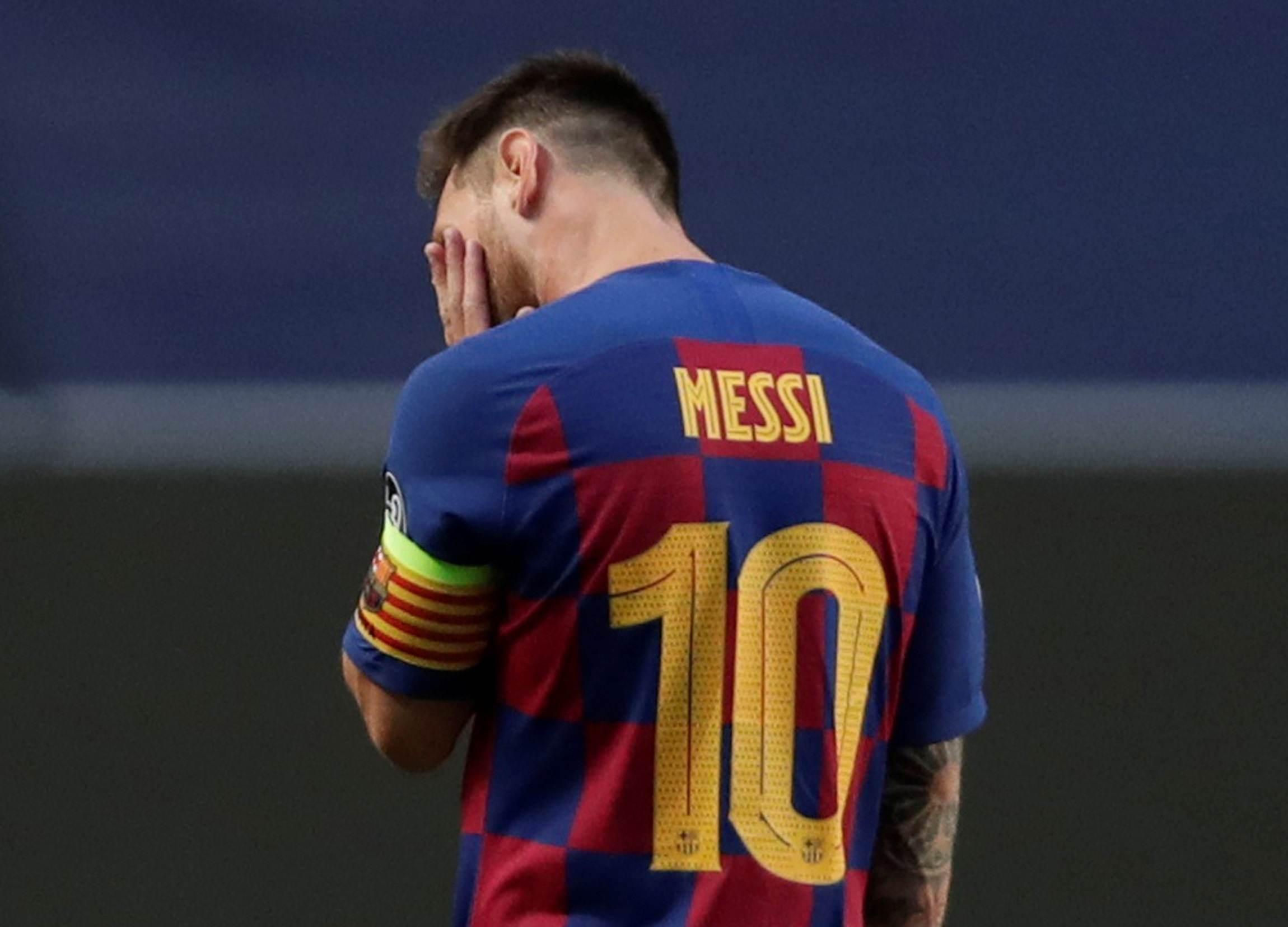 Messi decidiu deixar o Barcelona