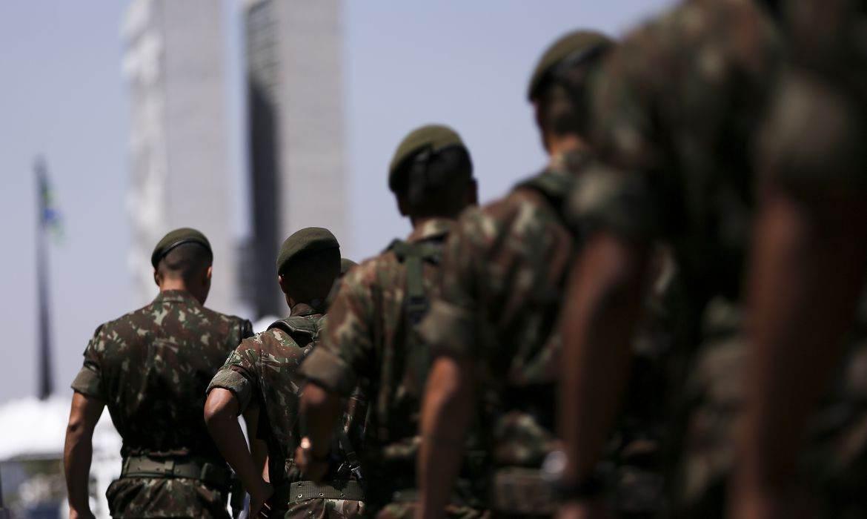 Militares do Exército brasileiro