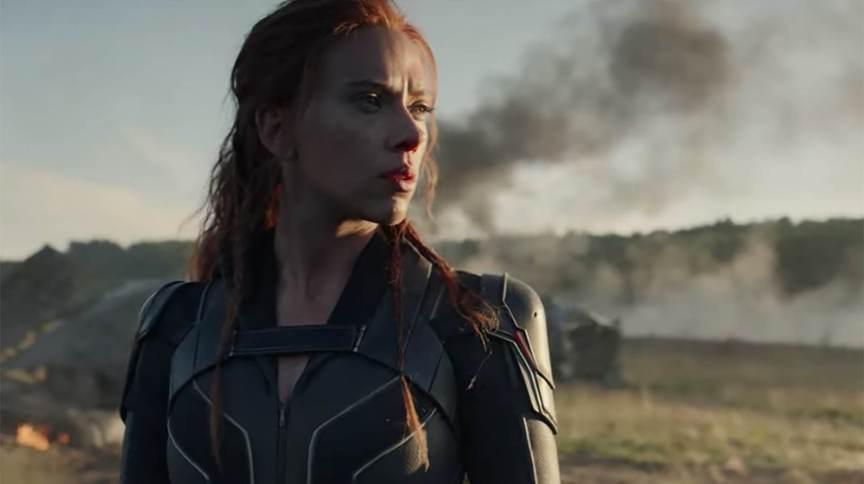 Scarlett Johansson interpreta Natasha Romanoff, a Viúva Negra