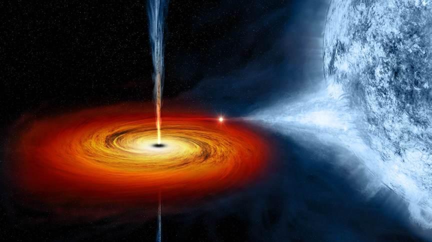 Buraco negro chamado Cygnus X-1
