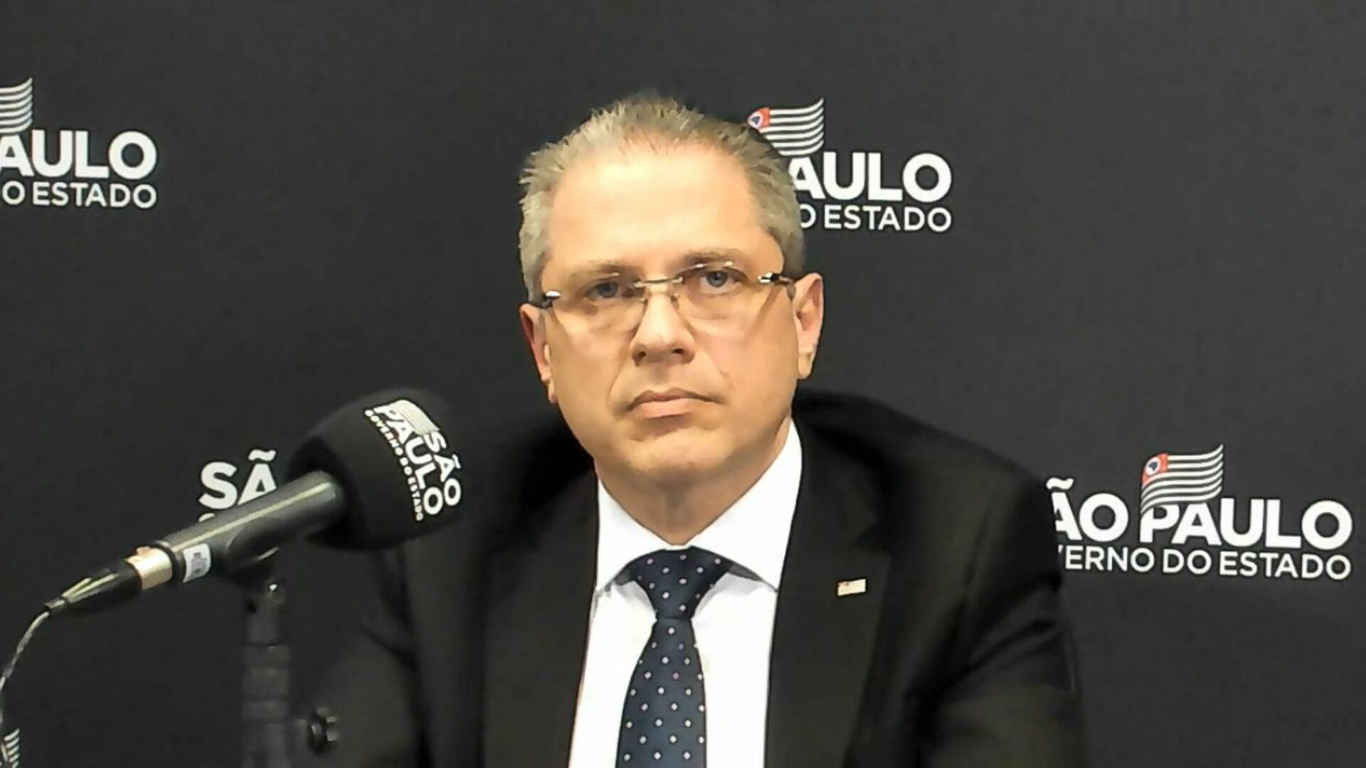 Jean Gorinchteyn, secretário de Saúde do Estado de São Paulo (19.out.2020)