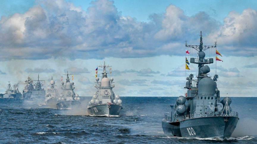 Parada da Marinha russa