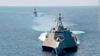 Enquanto líderes navais dos EUA elogiam a velocidade e agilidade do navio, os críticos mencionam os armamentos limitados e o histórico de avarias mecânicas