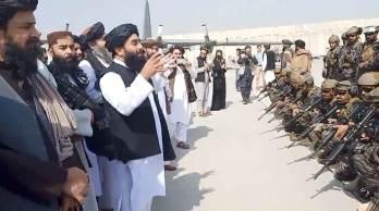No local, acontecia o funeral da mãe do porta-voz do Talibã, Zabihullah Mujahid