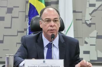 Fernando Bezerra Coelho (MDB-PE) é investigado pelo suposto recebimento de propina de empreiteiras