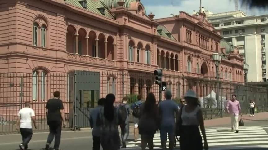Casa Rosada, em Buenos Aires, na Argentina