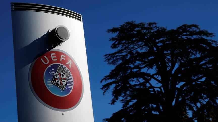 Sede da UEFA, a federação europeia de futebol, em Nyon, na Suíça