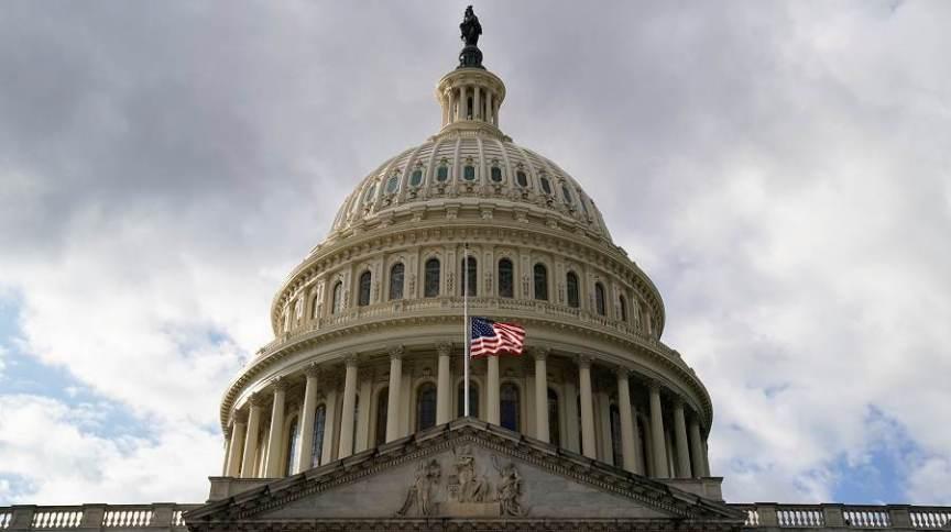 Vista do Capitólio, em Washington