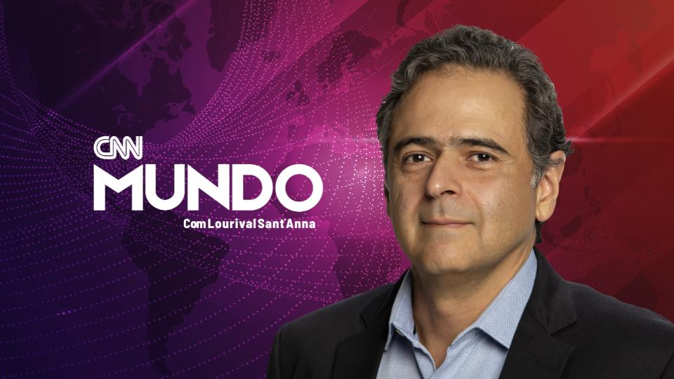 CNN Mundo, apresentado por Lourival Sant'Anna, novos episódios toda sexta-feira