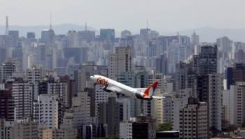 Média de voos diários registrou evolução de 133,5% em relação ao mesmo mês em 2020
