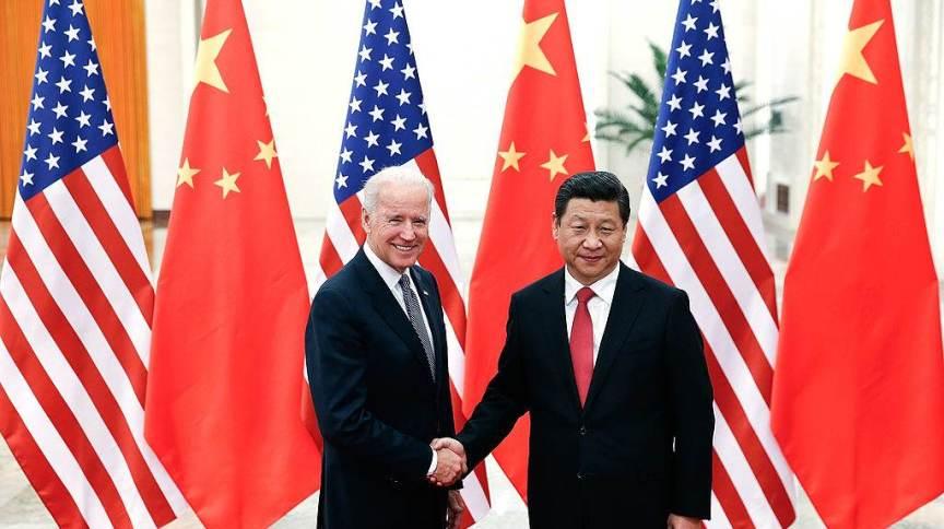 O presidente dos EUA, Joe Biden, e o líder da China, Xi Jinping