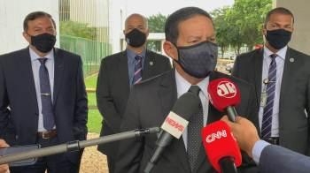 O vice-presidente falou sobre possível filiação depois de Bolsonaro dizer abertamente que existe a possibilidade de se filiar ao PP