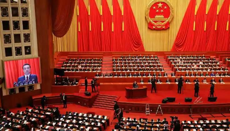 Reunião anual do Partido Comunista Chinês em maio de 2020