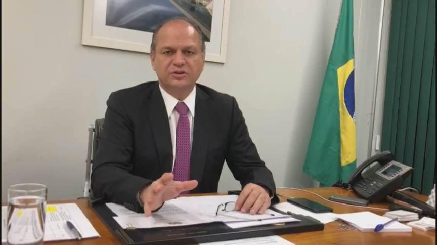 Deputado Ricardo Barros (PP-PR) é líder do governo na Câmara e já foi ministro da Saúde (06.mar.2021)