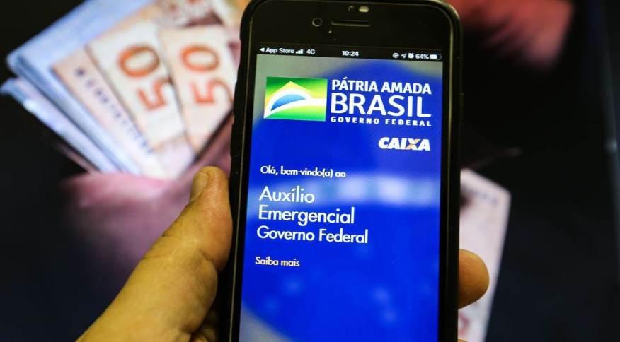 Ao todo 45,6 milhões de brasileiros estão sendo beneficiados pela nova rodada do auxílio emergencial