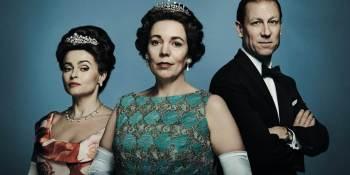 """As séries de TV que levaram para casa o maior número de prêmios neste ano foram """"Ted Lasso"""", da Apple TV+, com sete; e """"The Crown"""", produzido pela Netflix, com 11 vitórias"""