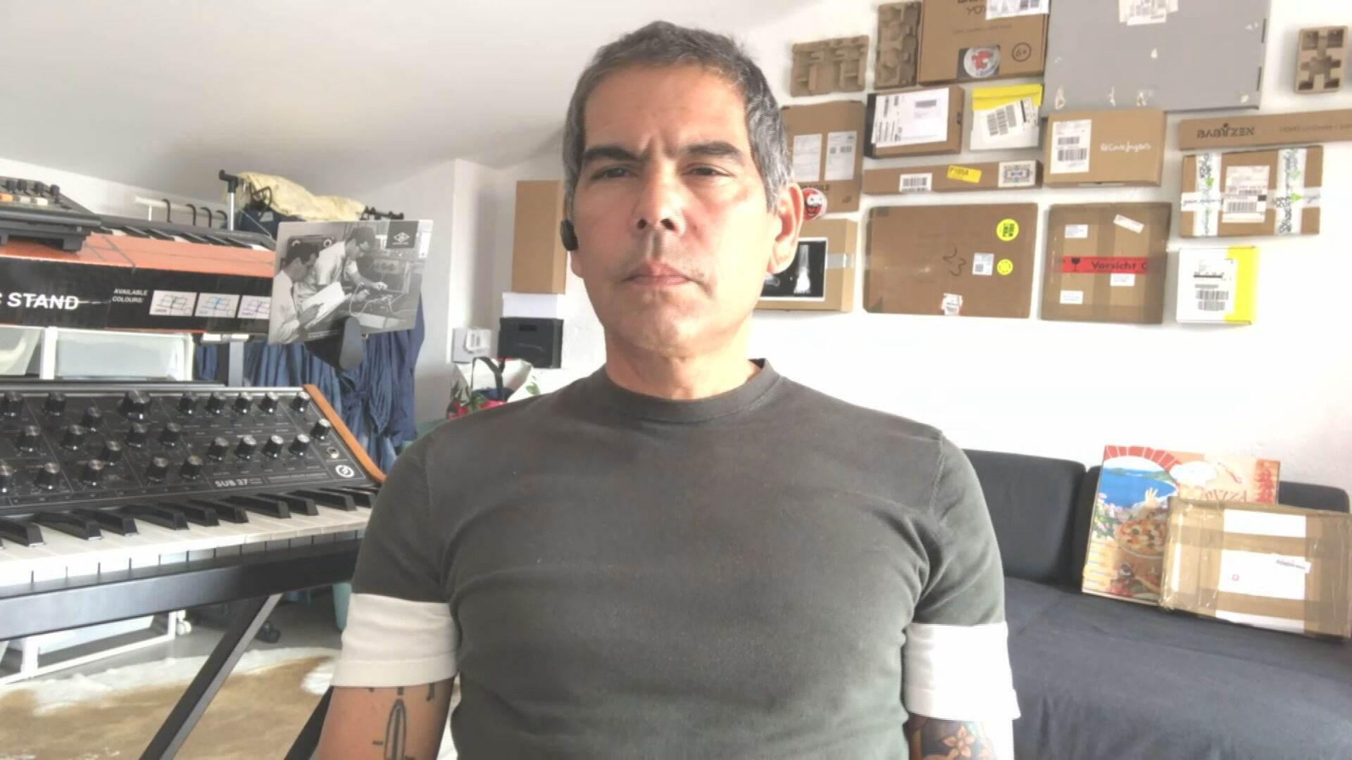 Dado Villa-Lobos, ex-guitarrista do Legião Urbana, em entrevista à CNN (05.abr.2