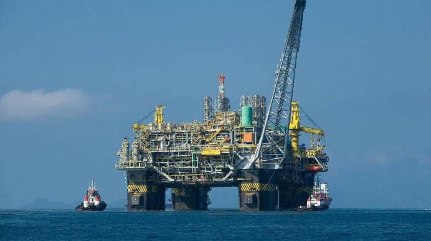 Plataforma de petróleo